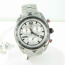 Tissot PRS 330 Chronograph Watch Silver Dial Stainless Steel T076.417.11.037.00