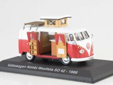 Scale model bus 1/43 Volkswagen Kombi Westfalia SO 42-1966