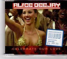(FM583) Alice Dee Jay, Celebrate Our Love - 2001 DJ CD