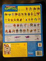 TMNT Dirtbag Card Back Teenage Mutant Ninja Turtles 1991 cardback file
