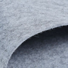 45x90cm Gray Wool Felt Fabric Sheets Wool Blend Fabric DIY Sewing Material
