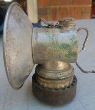 New listing Vintage Justrite Air Cooled Miner's Mining Carbide Helmet Head Light Lamp Usa