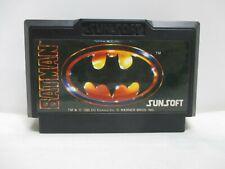 NES -- BATMAN -- Action. Famicom, JAPAN Game. Work fully!! 10665