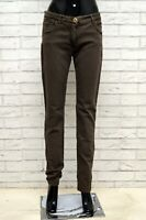 Pantalone ETRO Donna Taglia Size 31 Jeans Pants Woman Cotone Slim Skinny Fit