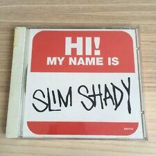 Eminem - Hi! My Name Is - CD Single PROMO - 1999 Aftermath - RARO!