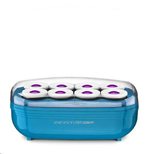 """INFINITIPRO BY CONAIR Instant Heat Tourmaline Ceramic Flocked Hot Rollers 2"""""""