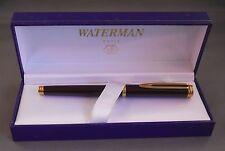Waterman Bordeaux Gentlemen Fountain Pen--l8k nib fine