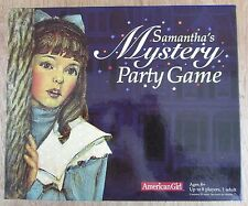 American Girl Samantha Mystery Girls Party Game Complete 2005