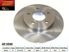 Disc Brake Rotor-Standard Brake Rotor Rear Best Brake GP5599