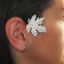 JoliKo Ohrklemme Ohrringe Ear cuff Ahorn Blatt Herbst Blätter Maple Leaf LINKS