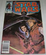 STAR WARS #95 (Marvel Comics 1985) LUMIYA appearance (FN/VF) Painted cover