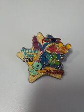 HTF! HKDL 2010 Passholder Exclusive Stitch & Scrump pin ( Disney lollipops Star)