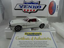 1:18 Exacto DETALLE/SUPERCAR collect. #230 1968 Yenko Camaro SS 427 Blanco