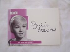 JULIE STEVENS as Venus Smith AVENGERS Lmt Ed AUTOGRAPH CARD *