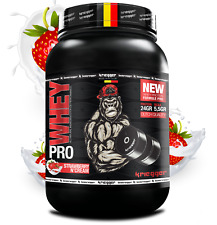 PRO WHEY PROTEIN ISOLATE BCAA STRAWBERRY N'CREAM 2200GR SPORT NUTRITION