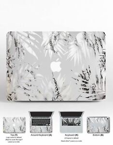"Marble Leaves Vinyl Decal For Macbook 12 Pro 13 15 2018 Sticker Macbook Air 13"""
