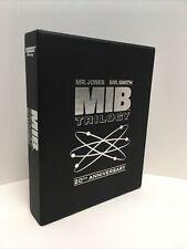 New listing Men In Black Trilogy 20th Anniversary Blu-ray Ultra Hd. Open Box