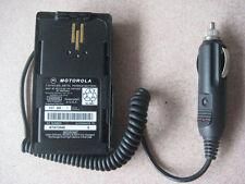 Car Charger / Battery Eliminator fit MOTOROLA VISAR UHF VHF Two Way Radio NEW
