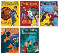 NEW Benjamin Pratt and & the Keepers School Collection Set of 5 Andrew Clements