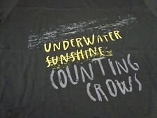 Counting Crows UNDERWATER SUNSHINE Concert Tour T-Shirt  2XL New   W4