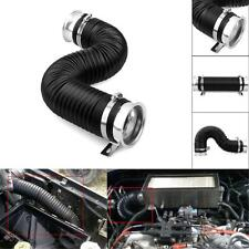 """Universal 3"""" Global Flexible Cold Air Intake Pipe Inlet Hose Tube Duct Inlet"""