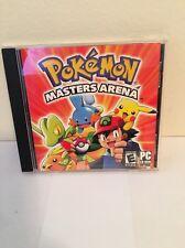 POKEMON MASTERS ARENA CD ROM GAME WINDOWS 10307