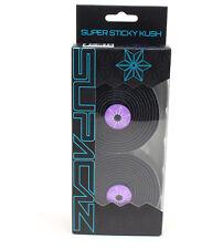 Supacaz Super Sticky Kush Road Bike Handlebar Tape, Galaxy Black/Purple