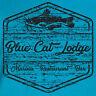Blue Cat Lodge T-Shirt Marina Netflix Ozark Christmas gift Bar Restaurant TV