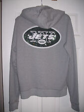 Victoria Secret PINK NFL New York Jets  Hoodie Sequin Bling SO CUTE!! LARGE NWT