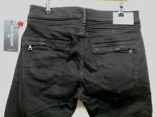 TRUE RELIGION - ROCCO - SKINNY - R100F1 - Men's Jeans - BLACK -Size 32 (32x34.5)