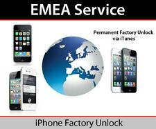 EMEA Factory Unlocking for iPhone 4S 5 5C 5S 6 6+ 6s next Service Policy Unlock