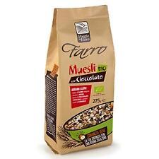 Muesli Intégrale Bio au Chocolat Poggio Del Farro 275 Gr Céréales Petit Déjeuner