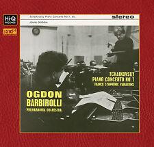 PHILHARMONIA ORCH/BARBIROLLI/OGDEN - Tchaikovsky/Piano Concerto No.1 New XRCD