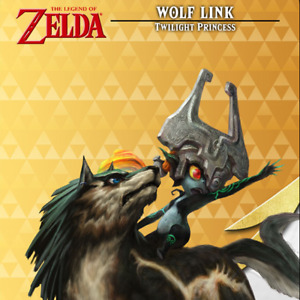 20 Hearts Wolf Link Amiibo COIN | Legend Of Zelda: BOTW Switch / Wii U