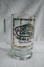 Ron Jon Surf Shop Cocoa Beach Florida Glass Beer Mug Stein Cup Mug 16 Ounces+