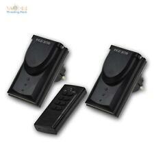 prises électriques télécommandées Ensemble avec télécommande extérieur radio,