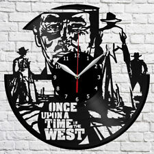 Once Upon a Time in the West Vinyl Record Wall Clock Home Fan Art Decor 4762
