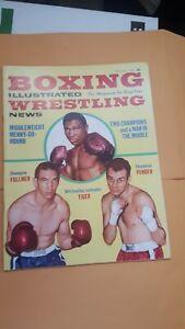 Boxing Illustrated + Wrestling News. July 1962. Gene Fullmer. Dick Tiger. Pender