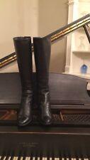Diane von furstenberg Black Riding Boots Size 10/11