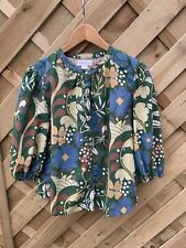 Velvet by Graham and Spencer Tulia floral printed Blouse size S uk 8 relaxing fi