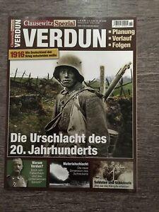 Zeitschrift Clausewitz Spezial Nr. 11 - Verdun 1916 *neu*