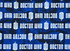 FAT QUARTER BBC DOCTOR WHO COTTON FABRIC SCIFI VAN GOGH SPRING CREATIVE QUILT FQ