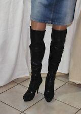 Sexy tacón alto botas de plataforma botas talla 41/42