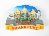 Frankfurt Römer Magnet 3D Optik 7,5 cm,Souvenir Germany,Neu