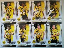 Topps Borussia Dortmund BVB team set 2020/21 autograph cards