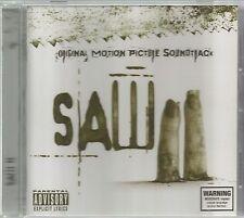 SAW II  -  ORIGINAL MOTION PICTURE SOUNDTRACK.  /  ( MUDVAYNE , MARILYN MANSON )
