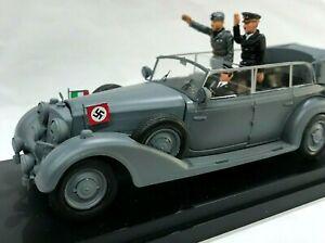 modellino Mercedes 770 Germany 1938 Mussolini/Hitler 1:43 Limousine Grigio Nuovo