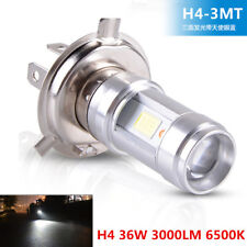 H4 36W 3000LM LED Motorcycle Headlight Bulb High-Low Beam Head Light Dual Color