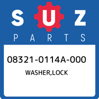 08321-0114A-000 Suzuki Washer,lock 083210114A000, New Genuine OEM Part