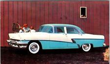 SACRAMENTO, CA 1956 MERCURY MONTEREY Lundstrom Motors Advertising  Postcard